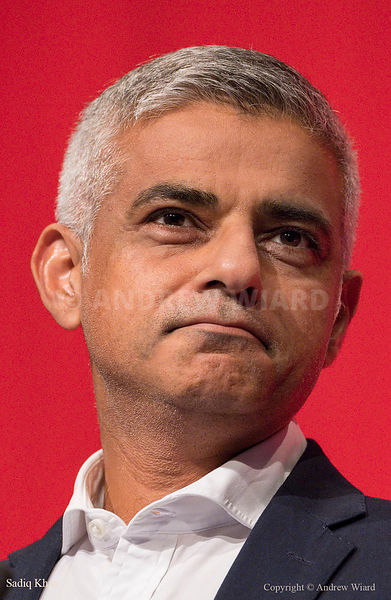 England, UK . 25.9.2017. Brighton. Labour Party Conference Monday. Sadiq Khan..