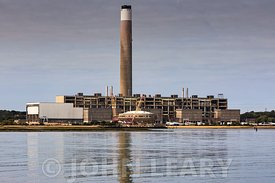Fawley Power Station Demolition.