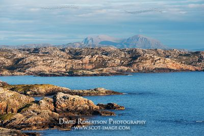 Image - Quinag viewed from Oldshoremore, Sutherland