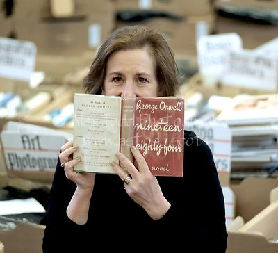 Kirsty Wark, Christian Aid Book Sale, Edinburgh, Thursday 9th May 2019