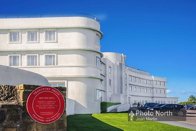 MORECAMBE 20A - Midland Hotel, Transport Heritage Site