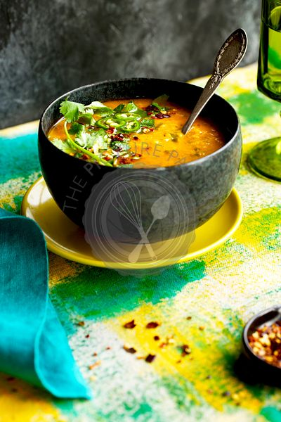 Indian Spiced Red Lentil Dal
