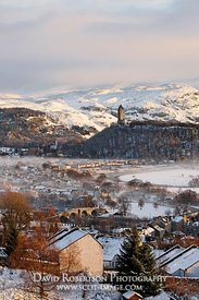Image - Wallace Monument and Stirling Bridge, Stirling Cityscape