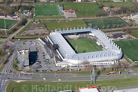 Almelo - Luchtfoto - Erve Asito Stadion