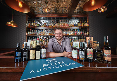 Rum Auctioneer Managing Director Iain McClune