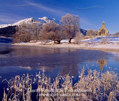 Image - Loch Achray and Trossachs Kirk, Scotland