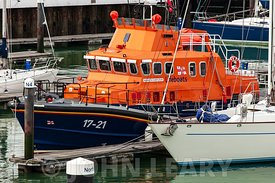 Lifeboat David and Elizabeth Ackland 17-21.