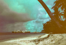 SS Mahseer at Gan Island (Maldives).