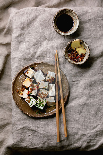 Silk tofu cheese