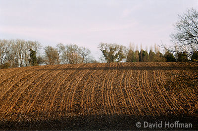 Ploughed field, Kent.