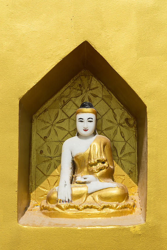 Buddha In Yellow II