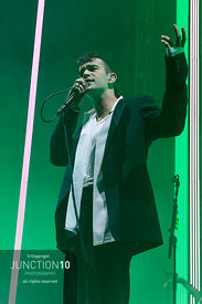 The 1975 in concert at the Arena Birmingham, Birmingham, United Kingdom - 25 Feb 2020