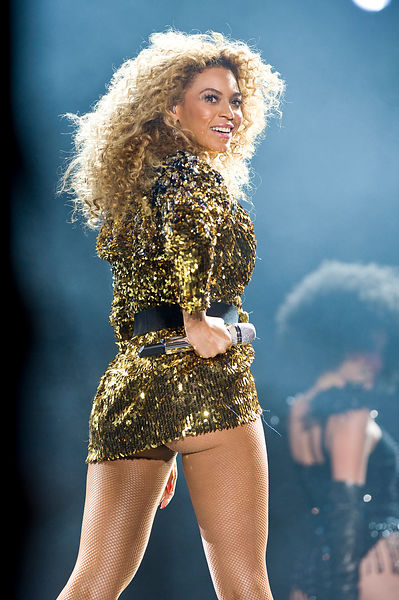 Beyonce.headlines the Pyramid Stage at the Glastonbury Festival.Photo Must Be Credited ©Jeff Spicer/Alpha