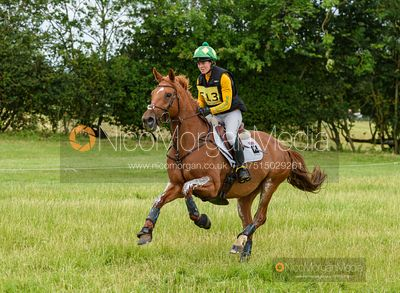 Nicky Hill and KILRODAN SAILORETTE - Aston Le Walls Horse Trials 2019.