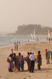 Saly, Dakar's nearest beach, Senegal