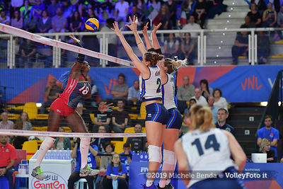 ITALIA - REP. DOMINICANA / VNL Volleyball Nations League 2019 Women's - Pool 5, Week 2