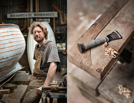 Boatbuilder - for Countryfile Magazine