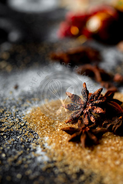 Star Anise and brown sugar
