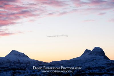Image - Suilven and Canisp, near Lochinver, Sutherland, Scotland