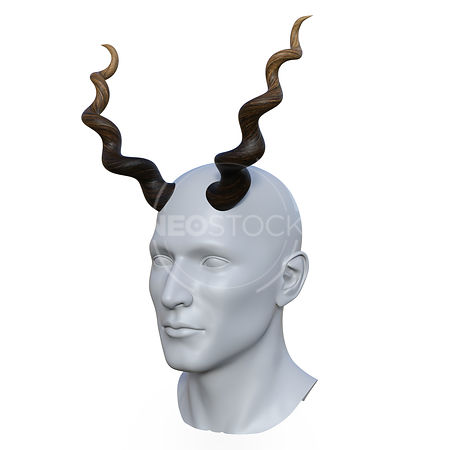 Deer_Horns_-_Three-Quarter