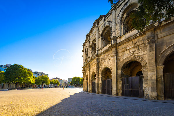 Arènes of Nimes, France