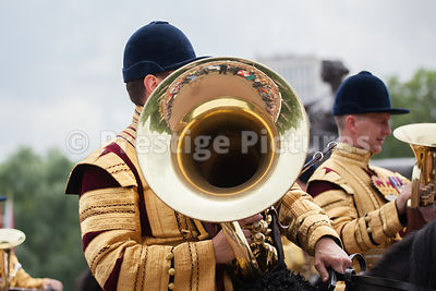 Musicians from the Household Cavalry