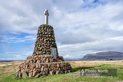 ISLE OF MULL 60A - Bunessan war memorial