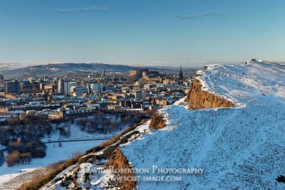 Image - View over Salisbury Crags and Edinburgh, Scotland