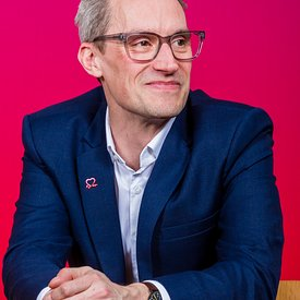 Scottish Parliament, Edinburgh..26.2.20.The launch of the BHF Scotland - The Circuit campaign...Pic Shows: James Jopling from...