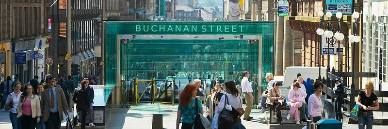 Image - Buchanan Street, Glasgow, Scotland.