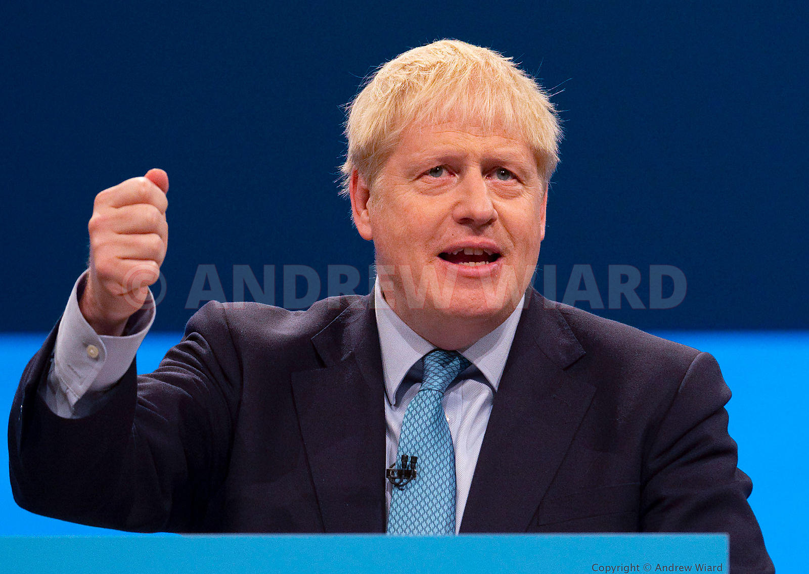 England, UK . 2.10.2019. Manchester. Boris Johnson's leader's speech to the Conservative Party Conference. .