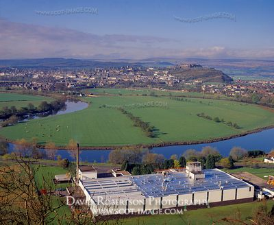 Image - Factory, River Forth and Stirling City, Scotland