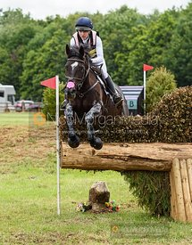 Felicity Collins and JUST AMAZING III - Aston Le Walls Horse Trials 2019.