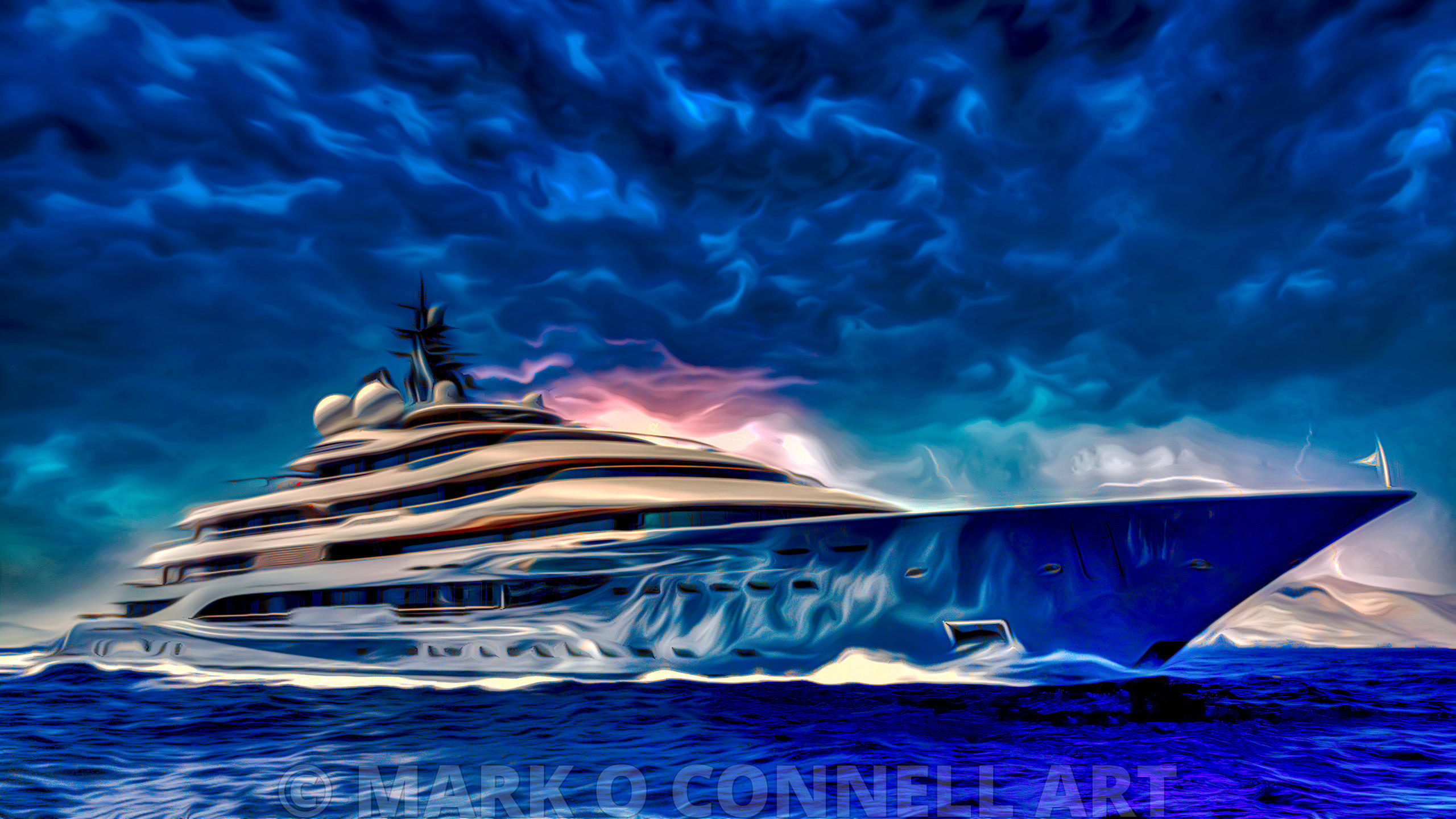 art,airbrush,yacht,superyacht,flying fox,lurssen,