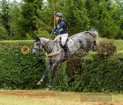 Dani Evans and FUN TIME CILLA - Aston Le Walls Horse Trials 2019.