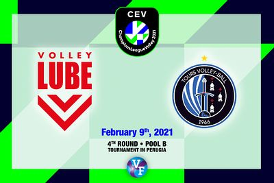 Cucine Lube Civitanova vs Tours VB, 4th round, Poul B, CEV Champions League Volley 2021 - Men