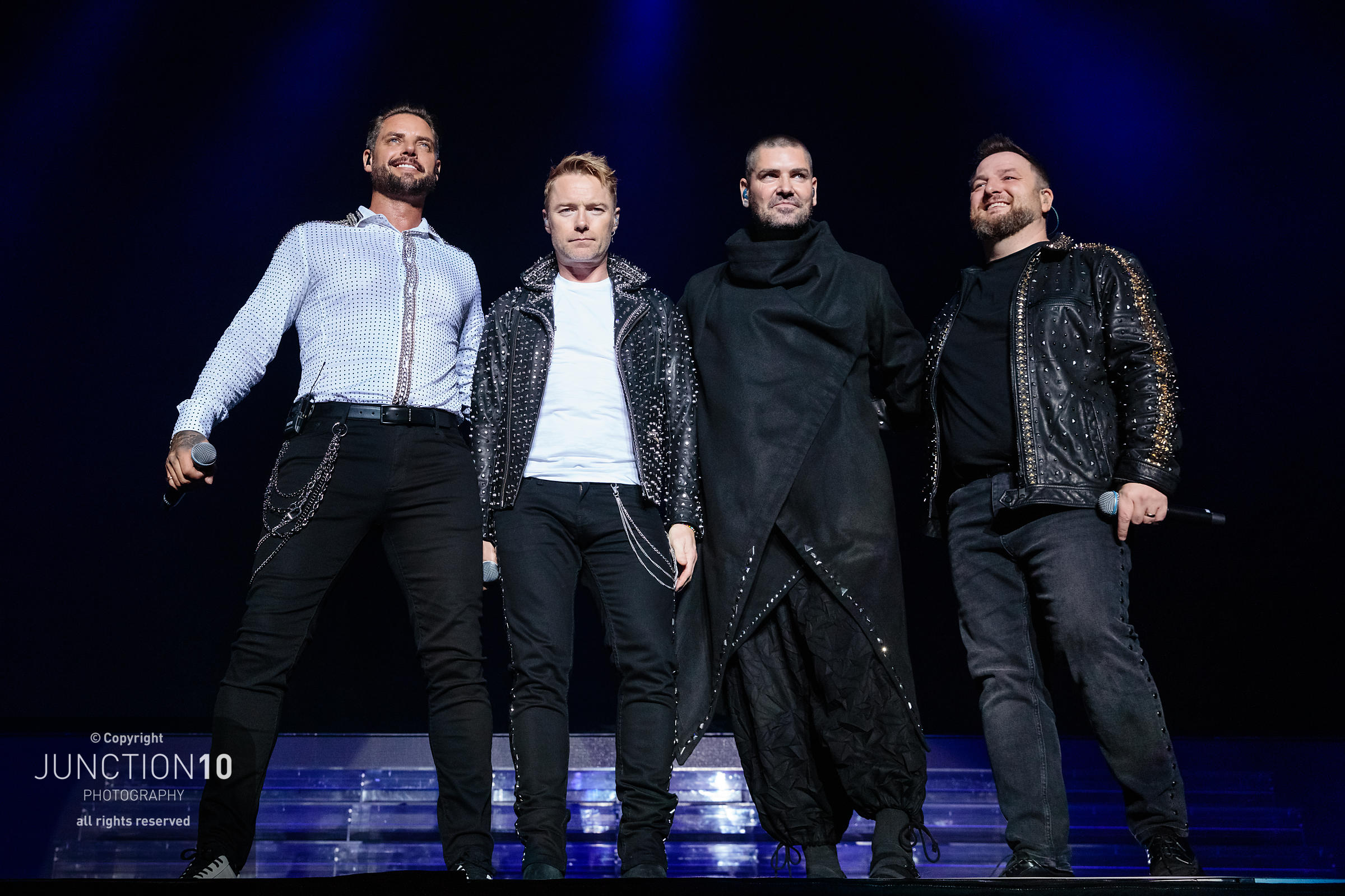 Boyzone in concert at Resorts World Arena, Birmingham, United Kingdom - 15 Oct 2019
