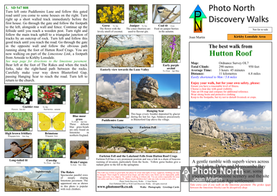 Hutton Roof walk - Two page PDF file