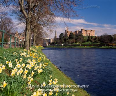 Image - Inverness Castle, River Ness, Scotland