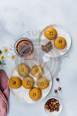 Turkish Semolina Cookies