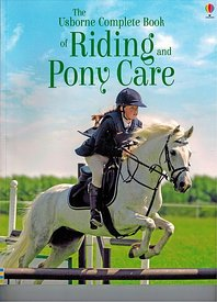 Cover photo for the Usborne Complete Book of Riding and Pony Care