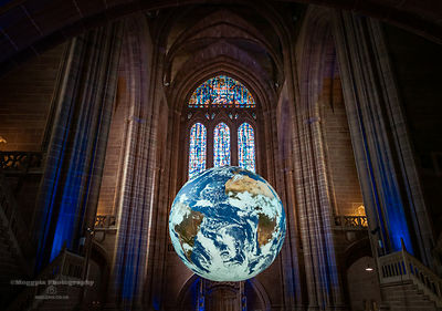 Earth Gaia at Liverpool Cathedral