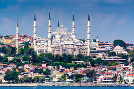 Sultan Ahmed Mosque. Blue Mosque. Istanbul.