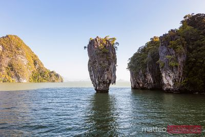 James Bond Island karst formation, Phang Nga bay, Thailand