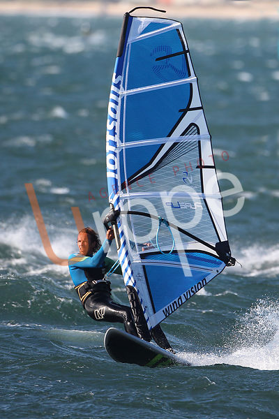 Photo de Windsurf avec figurants