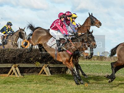 Race 3 - Novice Riders - The Midlands Area Club at Thorpe Lodge