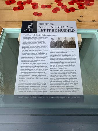 A Local Story in the window at Found