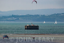 Kite Surfing at Calshot.