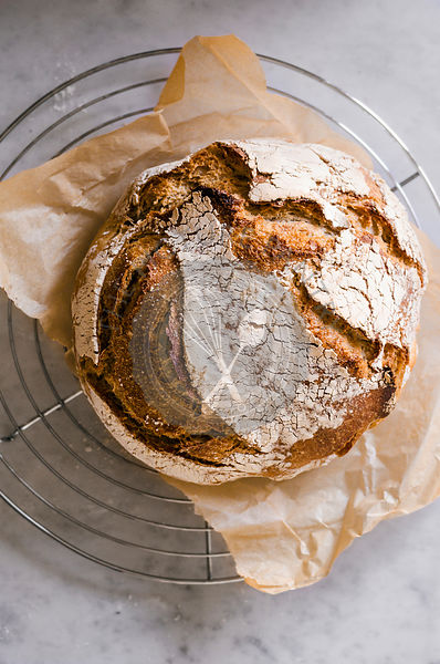 Whole Wheat Sourdough Bread