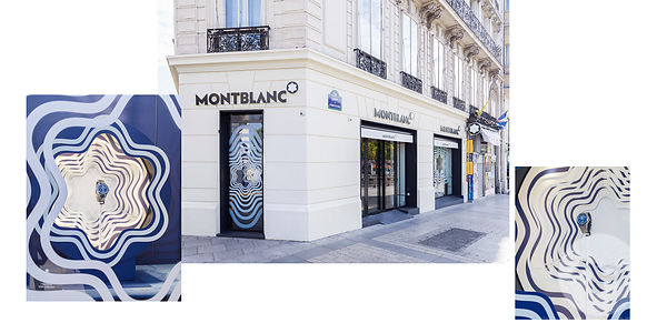 RETAIL PHOTOGRAPHER PARIS : MONTBLANC WINDOWS By STUDIO XAG